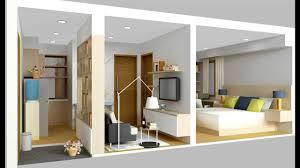 design interior rumah kontrakan desain interior rumah minimalis type 36 youtube
