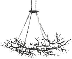 branch chandelier metal faux branch chandelier for sale at 1stdibs