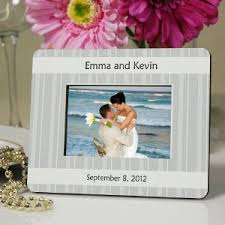 Personalized Wedding Photo Frame Personalized Wedding Favors Giftsforyounow