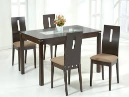 black glass dining room sets glass dining table set