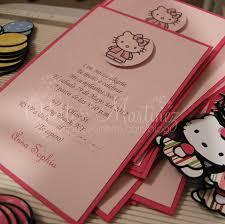 Hello Kitty Invitation Cards Hello Kitty Ballon Invitations