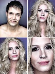 Professional Make Up Professional Makeup Artist Transforms Into Hollywood Celebrities