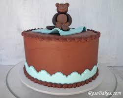 monkey baby shower cake bakes