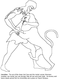 greek mythology coloring pages getcoloringpages griffin greek