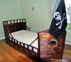 Pirate Ship Bedroom by Custom Made Twin Size Pirate Ship Bed By D U0026s Artistic Woodworking