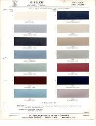 paint chips 1963 buick
