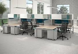 L Shaped Bench Seating The Office Leader Cluster Of 8 Person L Shape Bench Seating