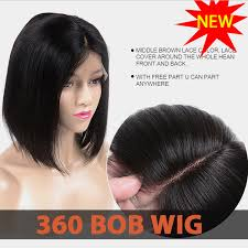 back of head bob 360 bobo lace wigs