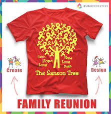 family reunion shirts reunions and on pinterest design your own t
