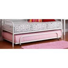 White Metal Daybed Twin Metal Daybed Trundle Spare Bed White Frame Kids Bunkbeds