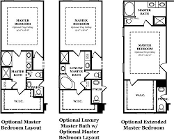 luxury master suite floor plans hickory ii the jones company