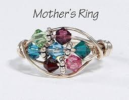 mothers day birthstone rings 7 grandmother s birthstone ring personalized