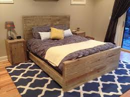 bed frame frame designs wood floating platform furniture design