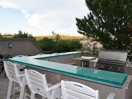 Glass Kitchen Countertops Everything You Need To Know About Outdoor Glass Countertops Cgd