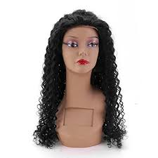 baby hair hair curly wig 130 density 100 human hair