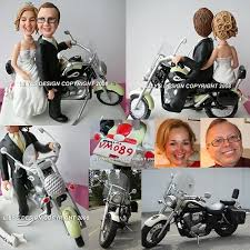 harley davidson wedding cake toppers custom motorbike and groom cake toppers custom motorcycle