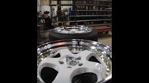 lexus esr wheels fixing terrible curb rash esr sr06 wheels youtube
