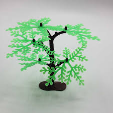 2017 top fashion decoration lowest price plastic tree