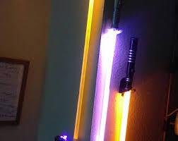 Lightsaber Bedroom Light Lightsaber Wall Etsy