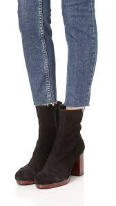 Decor Home Furnishings Free People Liquid Gold Platform Booties Black Women Shoes Free