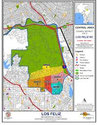 Griffith Park Map Boundary Map Los Feliz Neighborhood Council