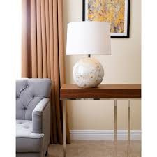 diy mother of pearl lamps the evident life