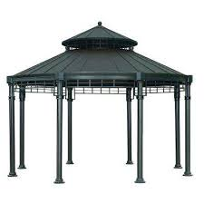 Home Depot Patio Gazebo Steel Gazebos Sheds Garages Outdoor Storage The Home Depot