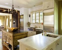 Kitchens With Two Islands Secondary Kitchen Island Design Ideas