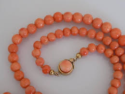 coral bead necklace images Victorian gold graduated coral beads necklace at 1stdibs JPG