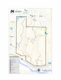 Fountain Valley Map Biking And Hiking Trails Avon Co Official Website