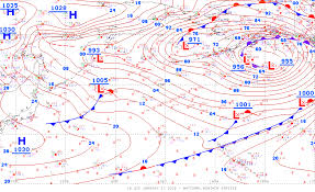 Frontal Boundary Map How To Read Symbols And Colors On Weather Maps