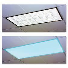 homemade fluorescent light covers educational insights classroom fluorescent light cover blue