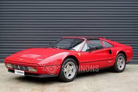 sold ferrari 328 gts u0027targa u0027 coupe auctions lot 25 shannons