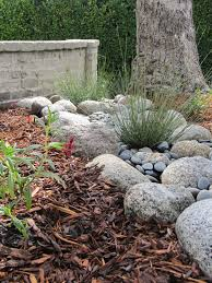 california native plant garden design fairy yardmother landscape design dry creek bed