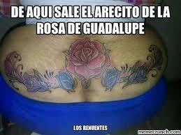 Rosa De Guadalupe Meme - aqui sale el arecito de la rosa de guadalupe