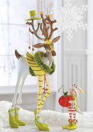 Deer Christmas Decorations Funny by 152 Best Reindeer Images On Pinterest Christmas Ideas
