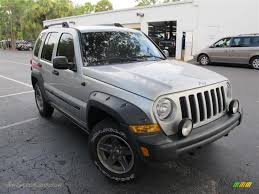 silver jeep liberty 2006 jeep liberty renegade in bright silver metallic 101050