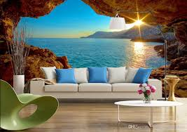 Wall Murals 3d 3d Space Sunrise Sunrise Modern Tv Background Wall Mural 3d