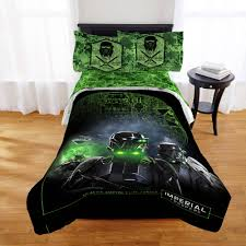 Queen Comforter Star Wars Rogue One Bedding Comforter Walmart Com