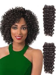 jheri curl weave hair remy human hair weft cpw001