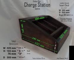 Build Your Own Charging Station Charging Station Organizer Leather Bound By Goddahavefun