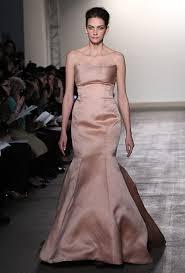 blush wedding dress trend wedding dress trends for 2012 wedding dresses and style brides
