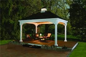 White Vinyl Pergola by Photo Gallery American Landscape Structures