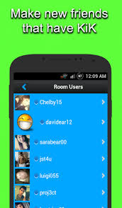 kik app android chat rooms for kik android apps on play