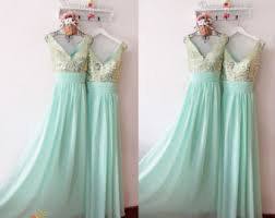 mint green bridesmaid dress inexpensive prom dress evening dress bridesmaid by fashionstreets