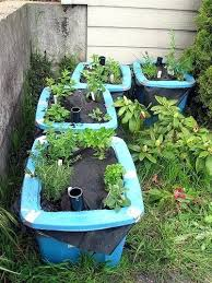 unusual garden container ideas indoor herb garden planter ideas 35
