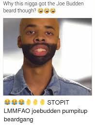 Memes Nigga - why this nigga got the joe budden beard though