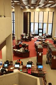Library Reference Desk Robarts Library Reference Desk And Reading Room Heritage U Of T