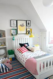 captivating boy room decorating ideas with colorful abstract wall