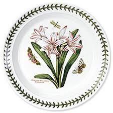 portmeirion botanic garden dinner plates set of 6